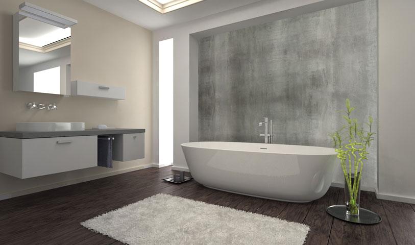 Loft b ton original - Salle de bain style loft ...