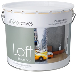 LOFT Raw concrete wall coating